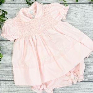 Baby Jogs Boutique Pale Pink Dress with Bloomers